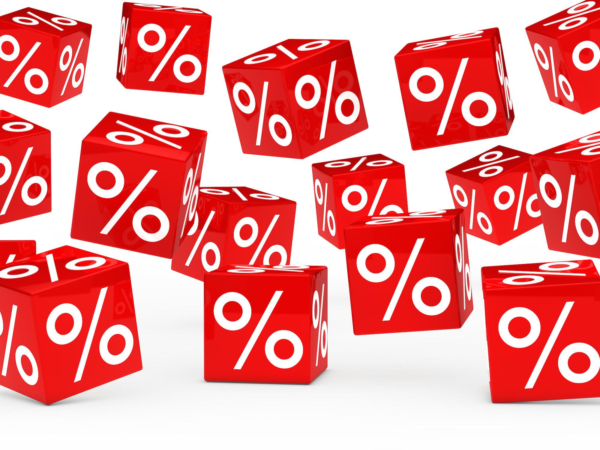 Interest rate percent