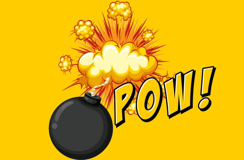 citadel-cgl-bwx-asx-Word pow with bomb explosive