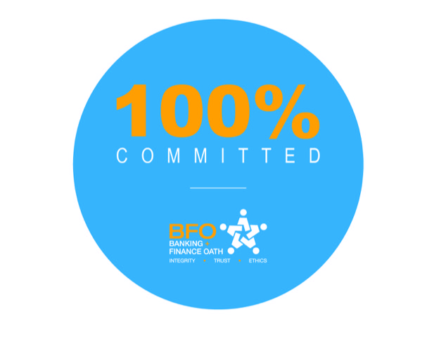 We're 100% Committed
