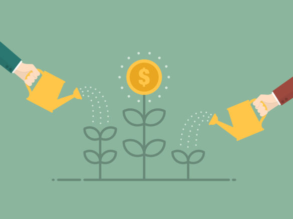 water-growth-plant-money