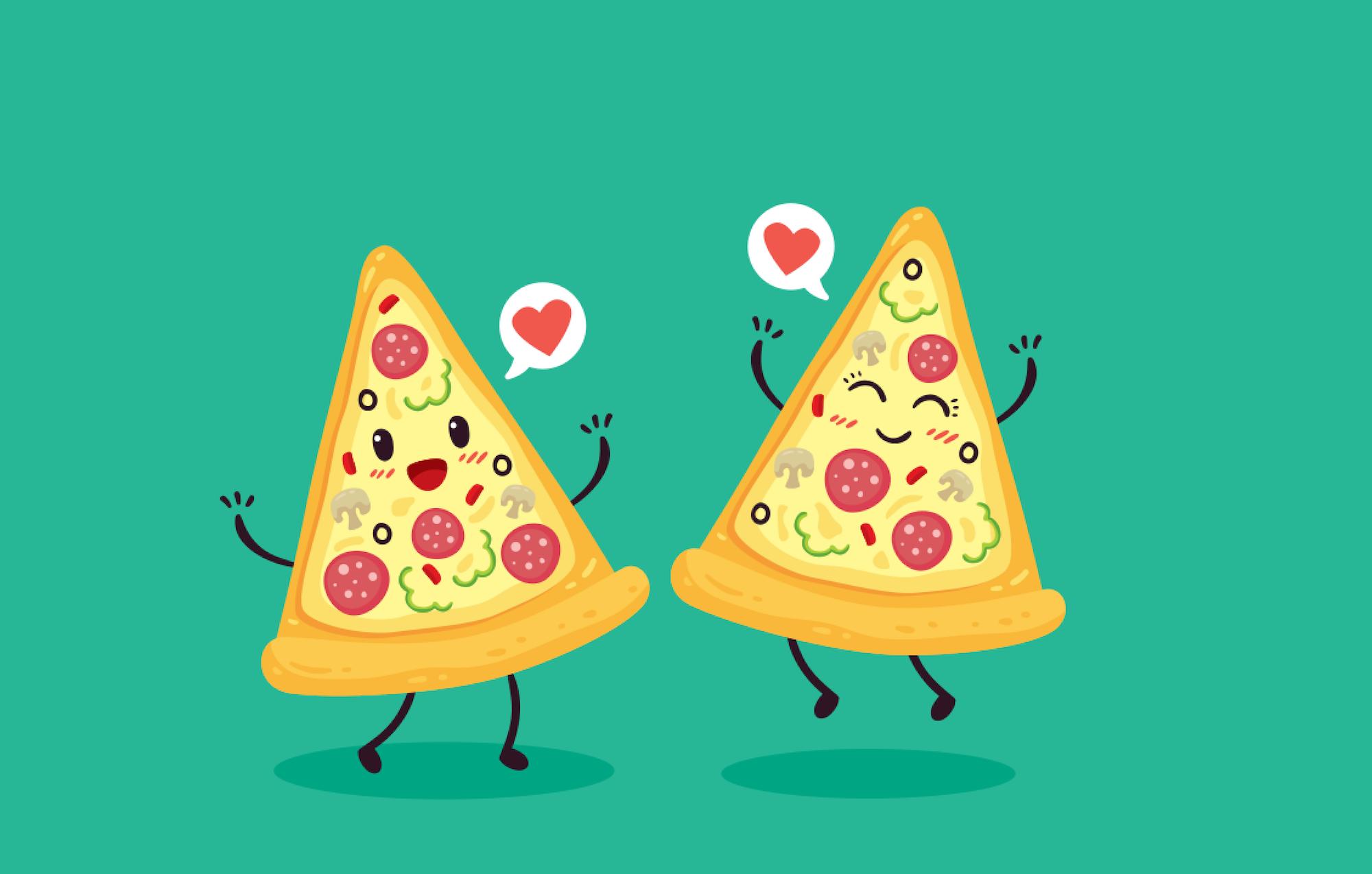 Domino's pizza DMP slices