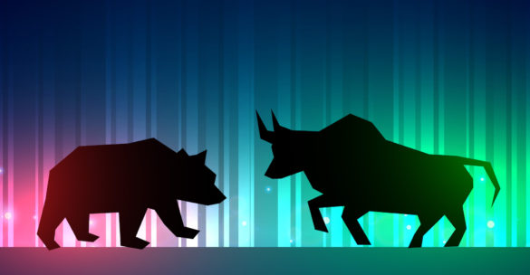 asx-cat-catapult-cat-share-price-stock market illustrator with bull and bear
