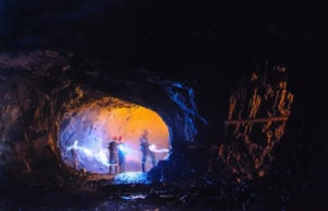 fortescue-share-price-fmg-asx-Diggers in a big cave