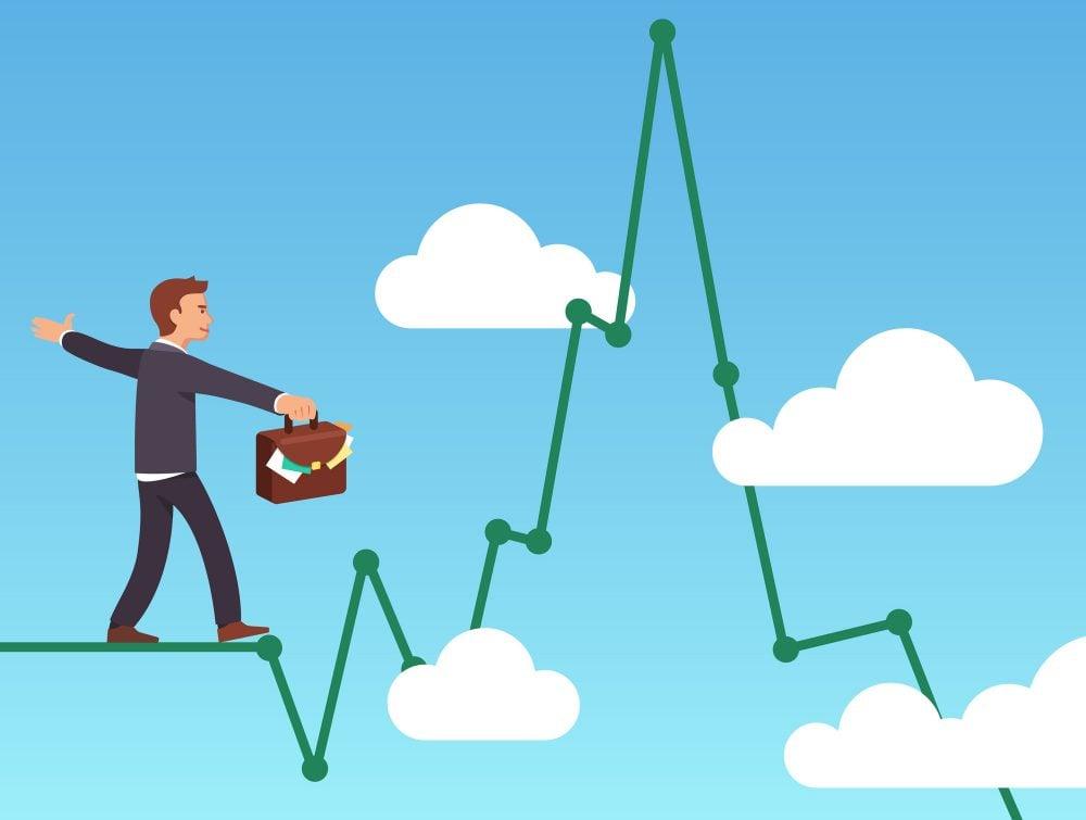 challenger ltd (ASX: CGF) share profit graphic