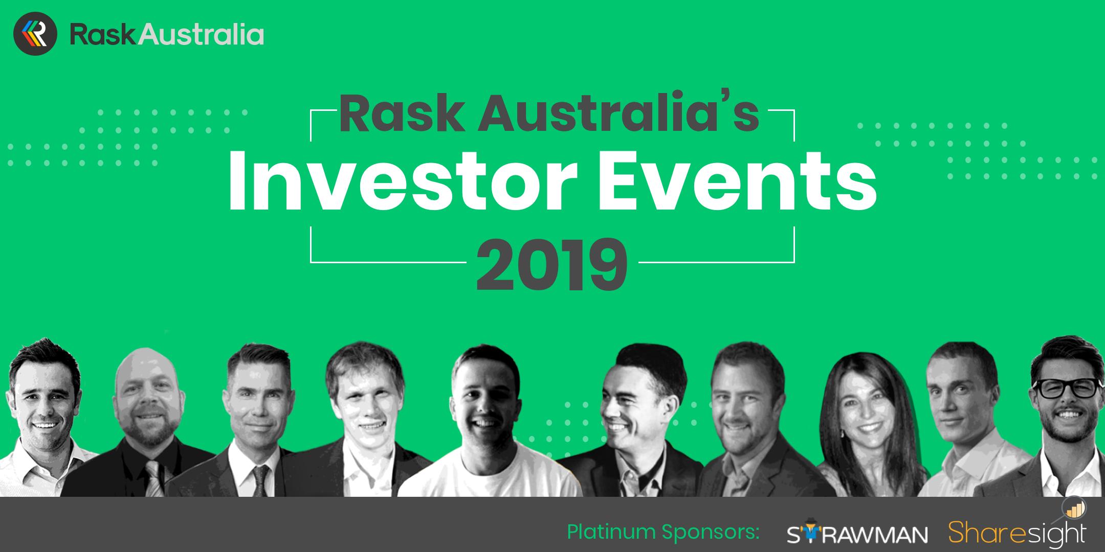 rask australia investor event banner
