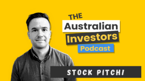 Australian investors podcast stock pitch logo